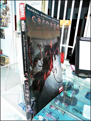 carnage,marvel moster edition,comic en español,televisa