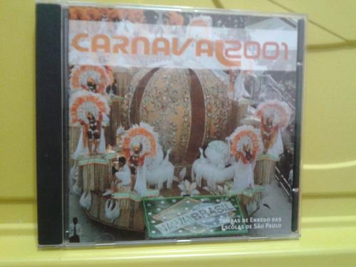 carnaval 2001 - sambas de enredo das escolas de são paulo