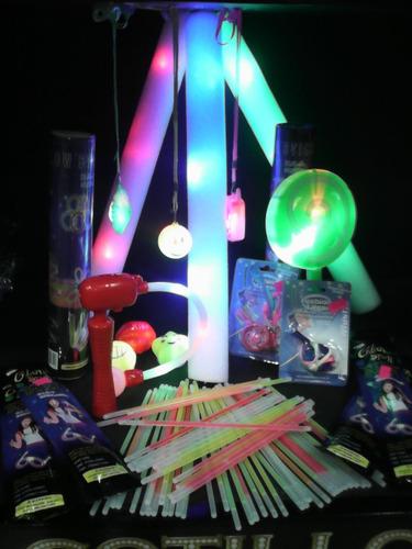carnaval carioca vip luminoso fluo 100 personas - 465 art