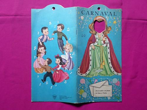 carnaval  cuento infantil, con carital movil