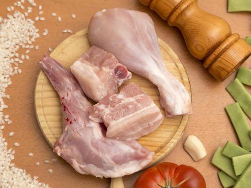 carne de conejo lista para consumo