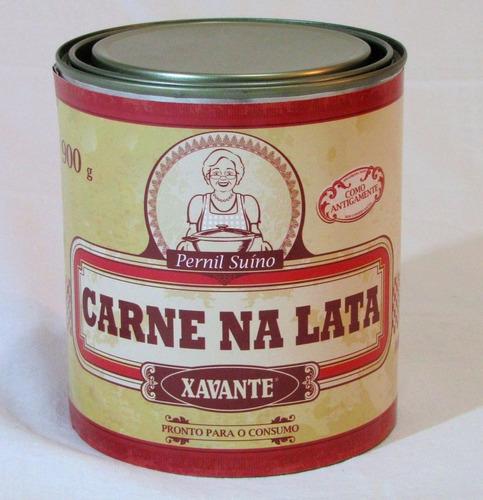 carne na lata xavante 900g