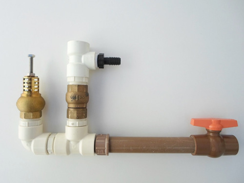 carneiro hidraulico 1 polegada pvc bomba de agua ecologico