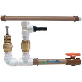 Carneiro Hidraulico 1/2 Pol Pvc Bomba Agua Ecologica Sucção