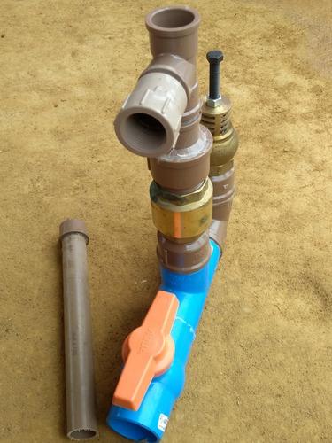 carneiro hidráulico bomba d'água pvc 2 polegadas globo rural