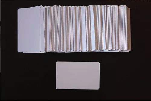 carnet en blanco para impresora inyección pvc (100 unidades)