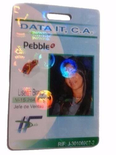 carnet en pvc con holograma