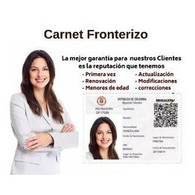 Carnet Fronterizo 100% Legal