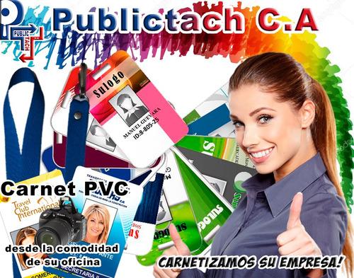 carnet pvc, diseño e impresión