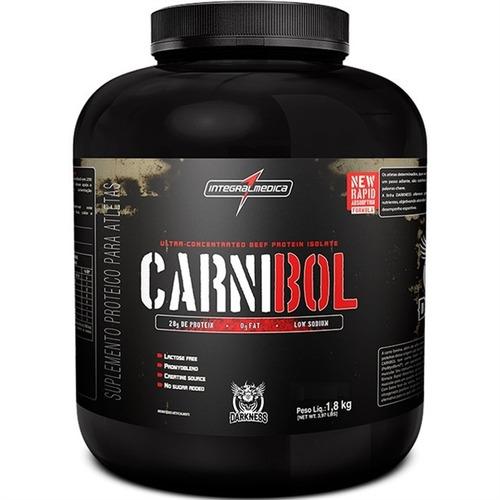 carnibol 1,8kg proteína da carne - integralmédica - sabores