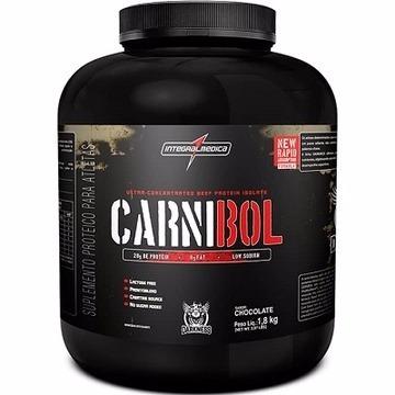 carnibol -proteina da carne/integralmédica- 1,8kg -chocolate