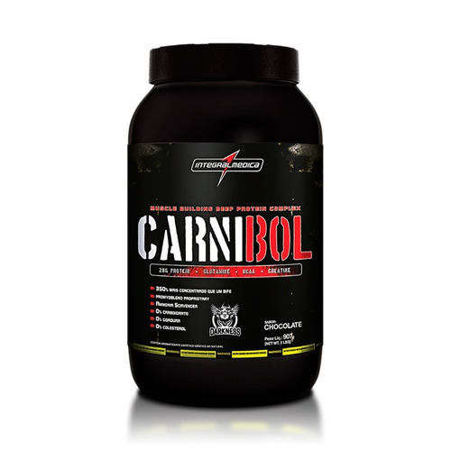 carnibol - proteina da carne/integralmédica - 907g - sabores