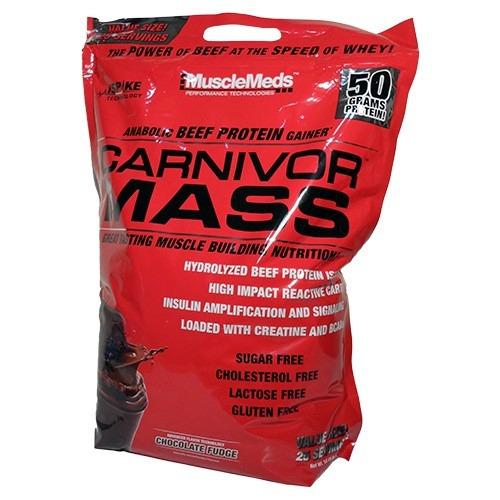 carnivor mass 10lb gana masa muscular y peso