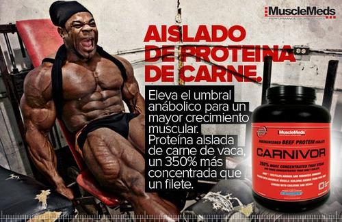 carnivor mass 5.9 lbs gana masa muscular y peso musclemeds