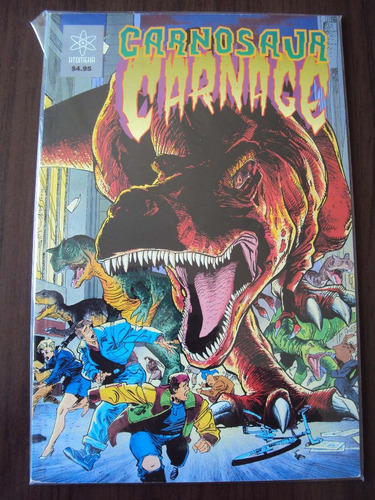 carnosaur carnage - atomeka - importada