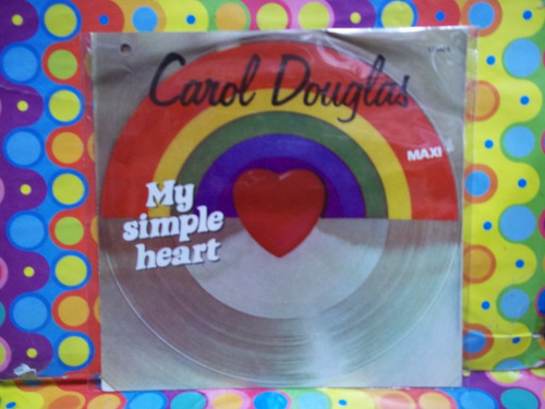 carol douglas lp 45rpm my simple heart r