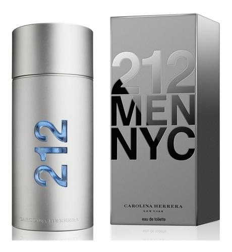 carolina herrera 212 men edt 200 ml (h) / elite perfumes