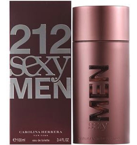 carolina herrera 212 sexy 100ml caballero original