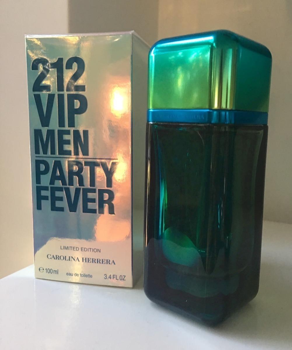 carolina herrera 212 vip men party fever 100ml - original !! Carregando  zoom. 0cc48221c4