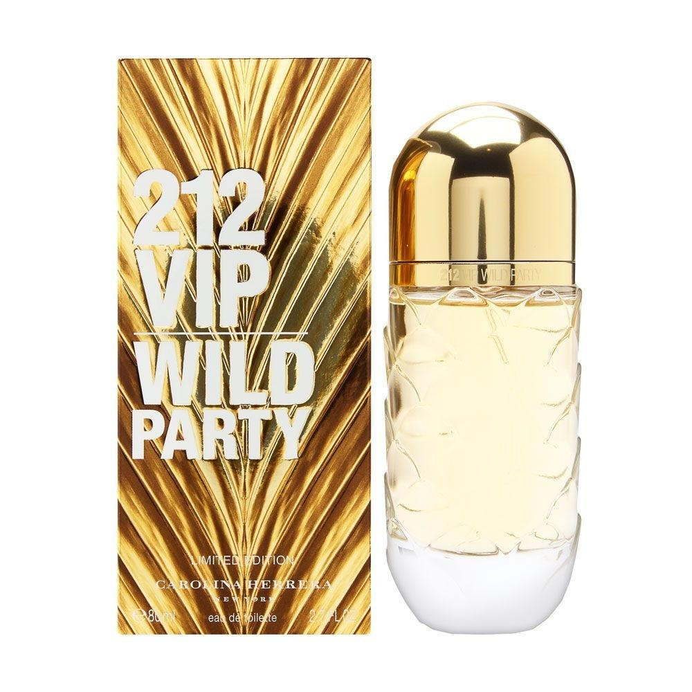 cd11b0112 Carolina Herrera 212 Vip Wild Party Edt 80ml - R  399