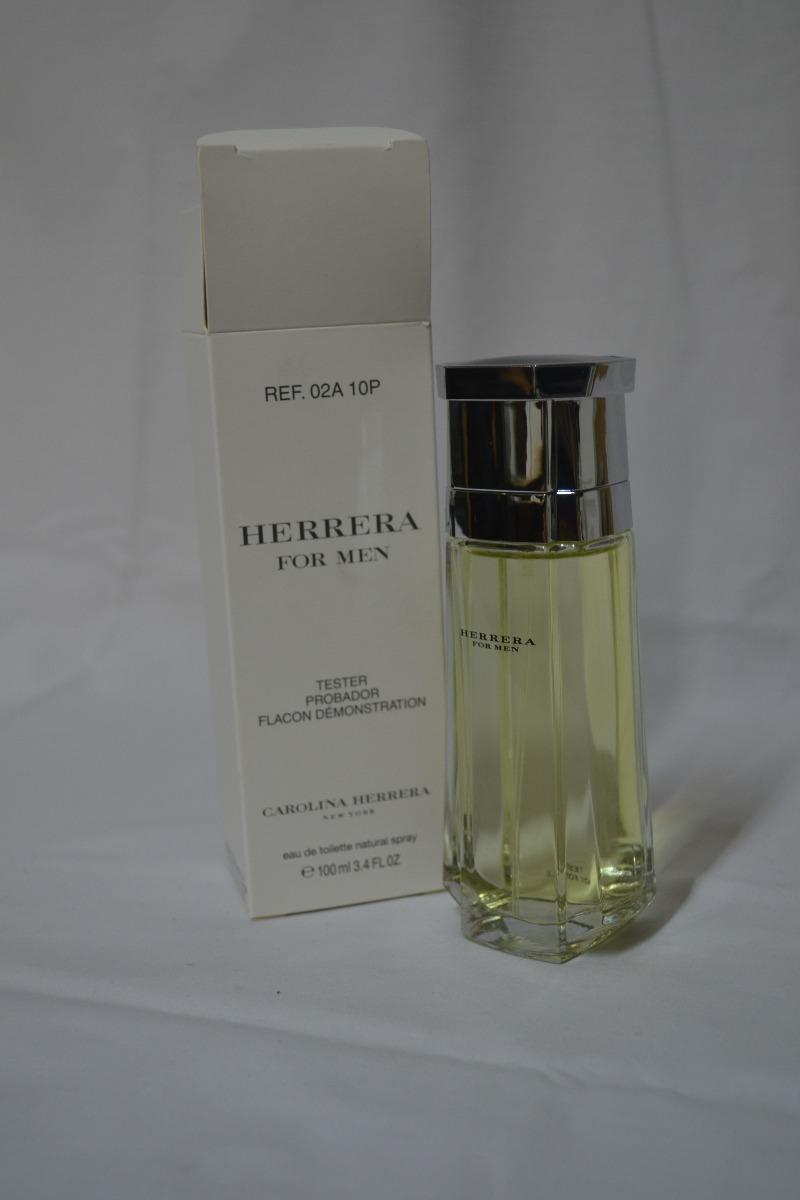 ebf23987a carolina herrera clasico tester perfume (masculino) x100ml. Cargando zoom.