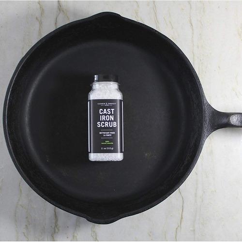 caron y doucet - de hierro fundido sal matorral - limpia stu