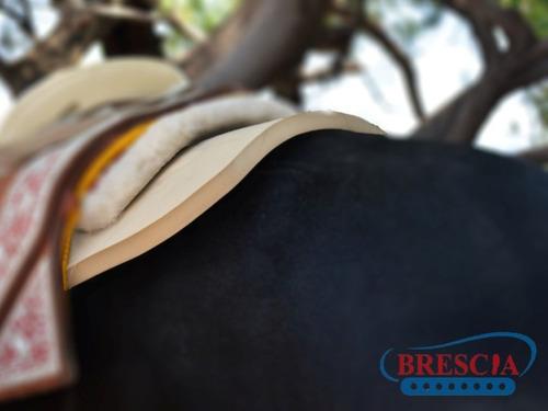 carona ortopedica para montura cola de pato eva (75x64) 20mm