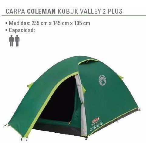 carpa 2p coleman kobuk valley 2 tipo igloo con abside°
