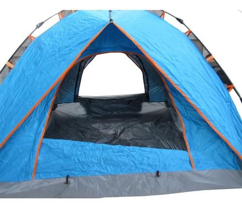 carpa 4 personas 030 + colchón  inflable 2 plz /  fernapet