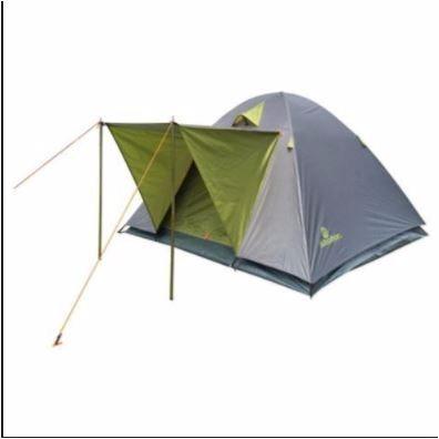 carpa 4 personas + colchón 2 plaza  inflador 1000 mm calidad