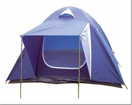 carpa 4 personas +colchón 2 plaza  inflador