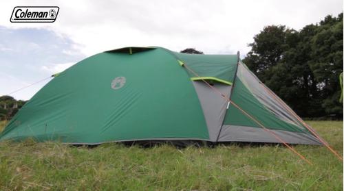 carpa 4p coleman kobuk valley 4 plus tipo igloo con abside°