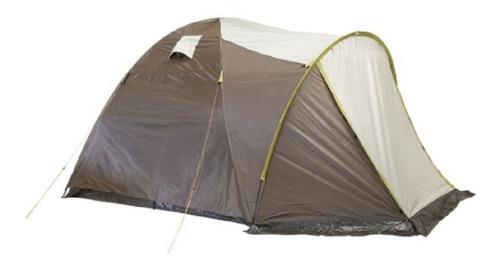 carpa 6 personas doble techo + bolso camping klimber rainbow