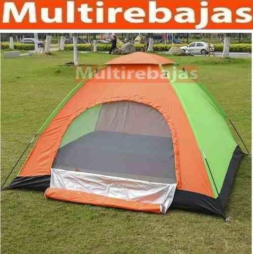 carpa 7 personas acampar playa excursión montaña nuevas