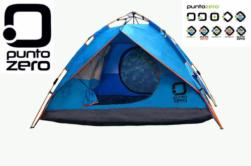 carpa automatica 4 personas camping pesca / open-toys avell
