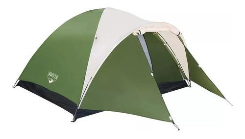 carpa bestway iglu para 4 personas camping cubre sobre techo