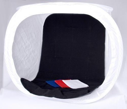 carpa caja de luz cubo 80x80x80 p/iluminacion portatil