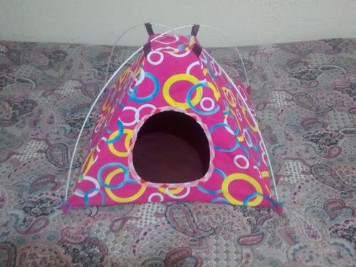 carpa-cama para mascota pequeña gato- perro