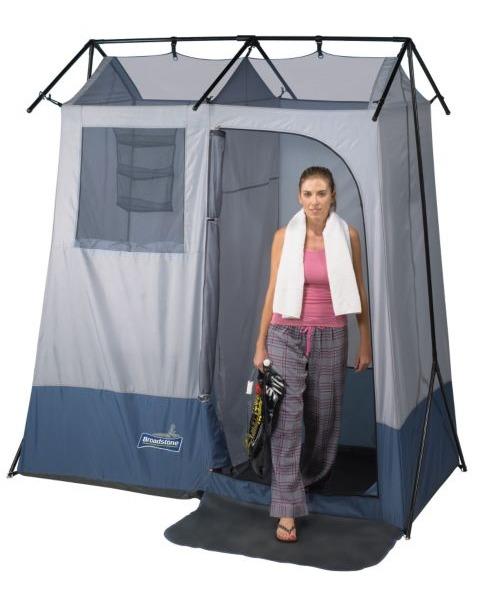 Carpa camping ba o y ducha portatil marca broadstone - Duchas portatiles camping ...