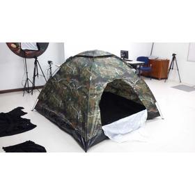 Carpa Camping Camuflada Para 4 Personas Real Tree Picnic