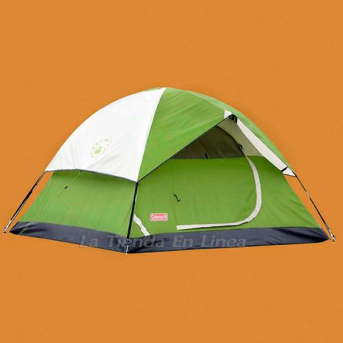 carpa camping coleman sundome 6 personas nueva original !