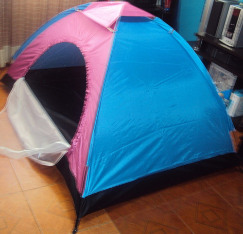 carpa camping para 2 personas 200 x 150 x 110cm