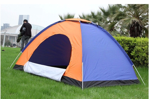 carpa camping para 4 personas facil armar acampar