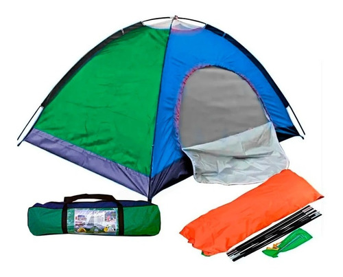 carpa camping para 4 personas impermeable acampar