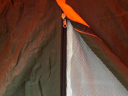 carpa canadiense 8 personas con abside scout camping nahuel
