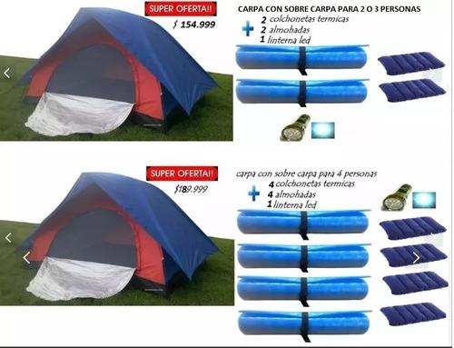 carpa carpa personas camping
