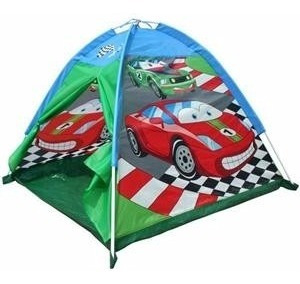carpa casa infantil auto carrera racing cars tent iplay