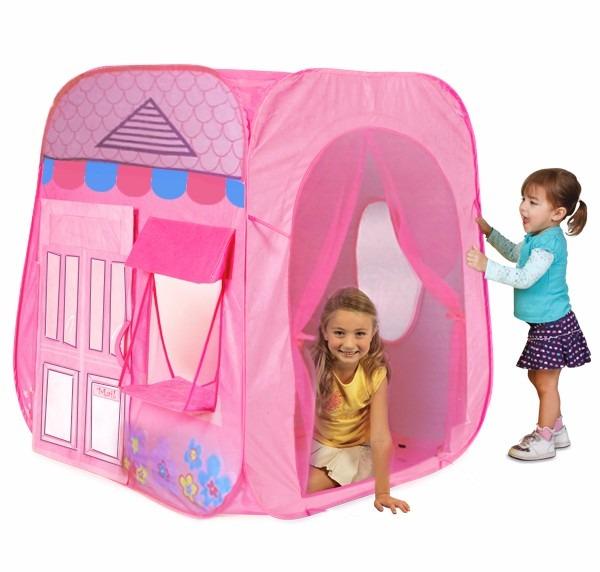 Carpa casa juguete para ni as plastico recojo los olivos - Casitas de juguete para ninas ...