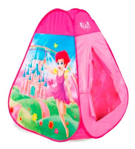 carpa casa para niños casa de los sueños 95x95x100cm nena