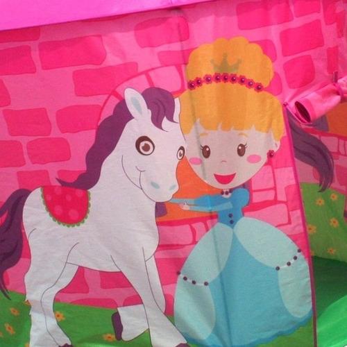 carpa casa para niños princesa pony tunel nena cuotas